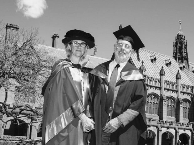 Fiona & Philip Syd Uni