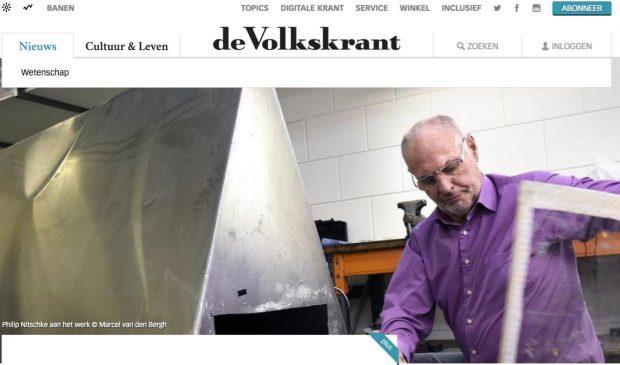 De Volkskrant image of Philip Nitschke