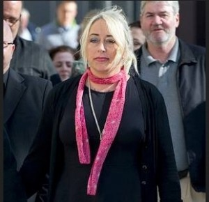 Gail in pink scarf