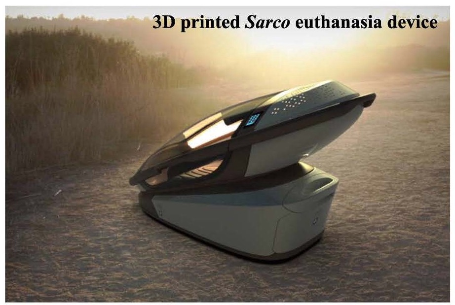Euthanasia Sarco Machine invented by Philip Nitschke