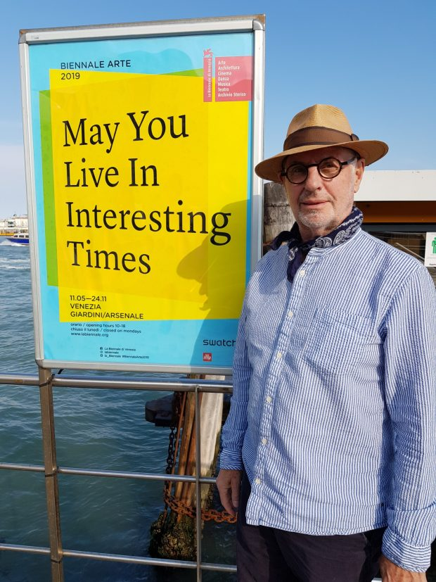 Venice Biennale sign with Philip