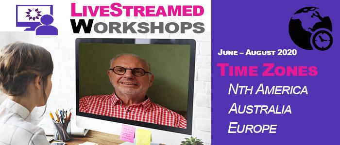 Livestreamed workshops