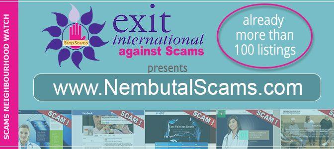 Stop Nembutal Scams