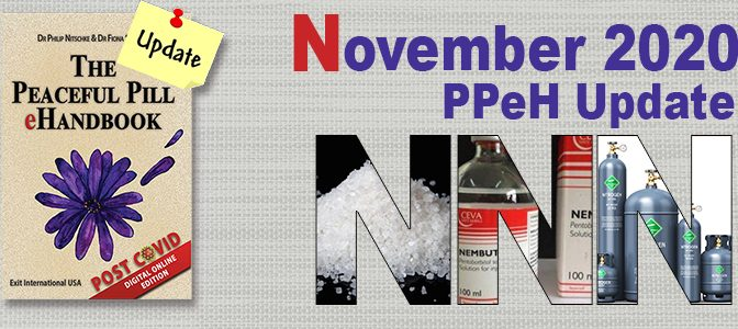 November Peaceful Pill eHandbook Update