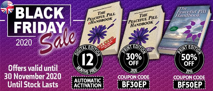 Black Friday Peaceful Pill Handbook Sale