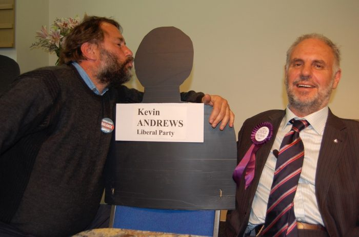 Kevin fails to show for final Townhall debate