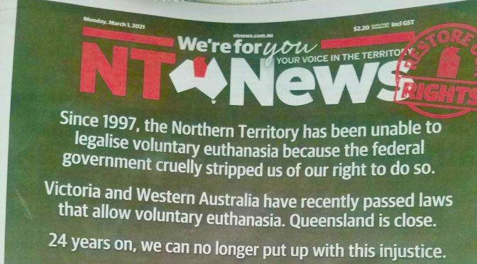 NT News Front Page